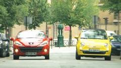 Essai Fiat 500C 1.4 16v contre Peugeot 207 CC 1.6 16v : Concours de séduction