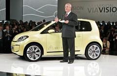 Volkswagen E-Up! Concept  : Jeu de bascule