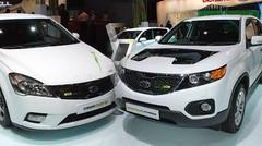 Kia Cee'd Hybrid et Sorento Diesel Hybrid
