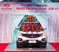 Kia Sorento : démarrage de la production dans une usine américaine flambant neuve