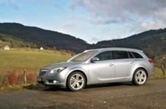 Essai Opel Insignia 1.6Turbo Sports Tourer bvm6 - 180 cv