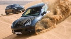 Porsche Cayenne 2 : premiers tests à Dubai