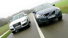 Essai Audi Q5 2.0 TDI 170 ch vs Volvo XC60 2.4D 163 ch : Les dandys de grand chemin