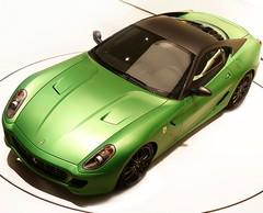 Ferrari HY-KERS Hybrid Vehicule : Le cheval cabré voit vert