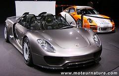 Porsche 918 Spyder hybride rechargeable, 3 ou 30 l/100 km, vous choisissez