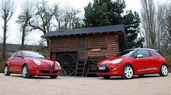 Essai Comparatif Alfa Romeo MiTo 1.4 MultiAir 135 ch vs Citroën DS3 1.6 THP 156