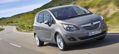Opel Meriva II : toutes les motorisations
