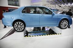 L'échange de batteries au programme pour la version électrique et chinoise de la Saab 9-5