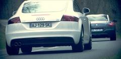 Essai Peugeot RCZ vs Audi TT : ça bouge chez les coupés