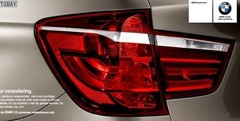 BMW X3 2010 : Teaser involontaire