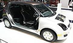 Suzuki Swift hybride rechargeable, ce n'est qu'un test