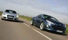 Essai Peugeot RCZ 1.6 THP 156 contre Audi TT 1.8 TFSI  : Jolies mômes