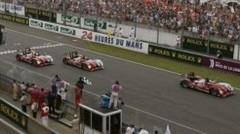 Triplé Audi aux 24 Heures du Mans