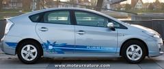 Prius rechargeable : Toyota associé avec l'INES
