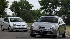 Essai Alfa Romeo Giulietta vs Volkswagen Golf : le feu et la glace