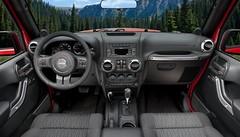 Jeep Wrangler :  retouches esthétiques