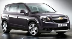 Chevrolet Orlando : premières photos avant sa présentation au Mondial 2010