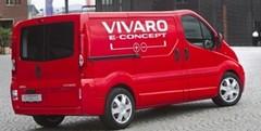 Opel Vivaro e-Concept : étude de fourgon électrique à prolongateur d'autonomie