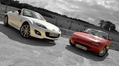 Essai Mazda MX-5 1990 vs Mazda MX-5 2010 : Miata Power