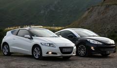 Essai comparatif : Peugeot RCZ vs Honda CRZ
