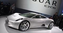 Jaguar C-X75 : coupé hybride high-tech