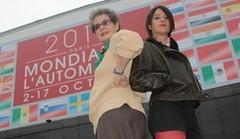 Les drôles de dames de Caradisiac au Mondial de Paris 2010