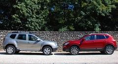 Essai Dacia Duster vs Nissan Qashqai : Un même cœur, deux esprits différents
