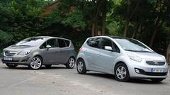 Essai Kia Venga 1.6 124 ch vs Opel Meriva 1.4 120 ch