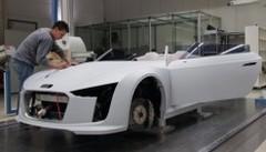 La conception d'un Concept : Audi E-Tron Spyder !