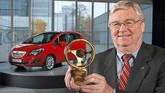 Le Volant d'Or pour l'Opel Meriva