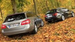 Essai BMW 520d Touring vs Mercedes E220 CDI SW