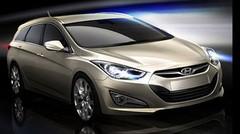 1ers teasers du break Hyundai i40 SW