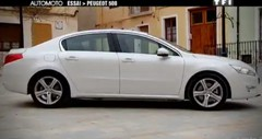 Emission Automoto : Essai Peugeot 508; Mazda 5 vs Renault Scenic; radars; Spark