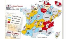 Carte grise 2011 : un tiers des régions en hausse