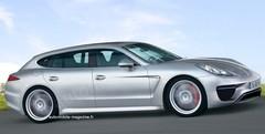 Porsche Panamera Break : Famille tardive