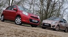 Essai Nissan Micra 1.2 80 ch vs Renault Twingo 1.5 dCi 75 ch : Cousines germaines