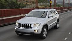 Le Jeep Grand Cherokee version diesel à Genève