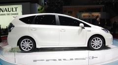 La Toyota Prius Plus dévoilée au salon de Genève