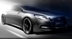Nouvelle Renault-Samsung SM7: 1er sketch officiel
