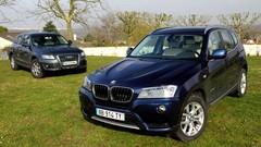 Essai BMW X3 vs Audi Q5 : petite guerre entre amis