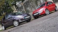 Essai Ford Fiesta 1.6 TDCi 95 ch vs Fiat Punto Evo 1.3 Multijet 95 ch