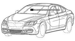 BMW Série 6 GranCoupé : premiers croquis