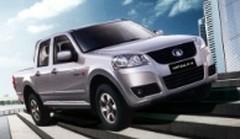 Des pick-up diesel chinois importés en Europe