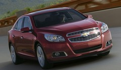 La Chevrolet Malibu traverse l'Atlantique
