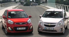 Essai Chevrolet Spark vs Kia Picanto : citadines délurées