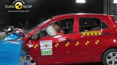 Kia clarifie les résultats obtenus par la Kia Picanto lors des crash-tests Euro NCAP
