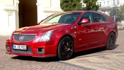 Essai Cadillac CTS-V Wagon : le break le plus rapide de l'Ouest