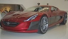 Rimac Automobili Concept_One, l'ambitieuse