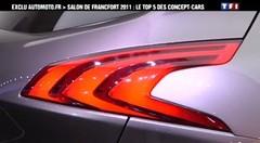 Automoto: Top 5 des Concept-Cars de Francfort  en vidéo