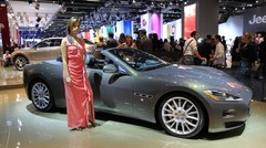 Maserati GranCabrio Fendi, pour sortir bien habillé